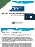CTP Designation Overview
