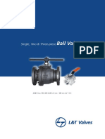 L&T Valves - Floating Ball Valve