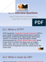 Top 25 Http interview questions and Answers
