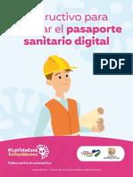 Cartilla Pasaporte Sanitario Digital (Trabajadores)