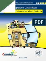 Cartilla Diálogo Intercultural en Justicia Plural