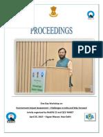 Proceedings-Vigyan Bhawan Workshop