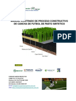 - Manual de proceso construtivo de cancha de pasto sintético FGP 2018