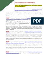 PROCEDIMIENTOS PLANEACIÓN DEL MANTENIMIENTO