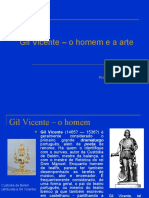 Apresentação - Gil Vicente