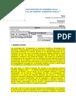 I. MAESTRÍA EN INGENIERÍA NAVAL MODALIDAD INVESTIGATIVA