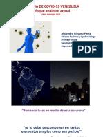 26.5.20 - Presnetación Dr. Alejandro Rísquez - evolución covid venezuela