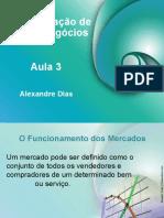 Aula_03 ADMINISTRAÇÃO DE NOVOS NEGÓCIOS