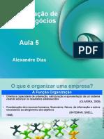 Aula_05 ADMINISTRAÇÃO DE NOVOS NEGÓCIOS