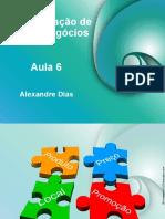 Aula_06 ADMINISTRAÇÃO DE NOVOS NEGÓCIOS