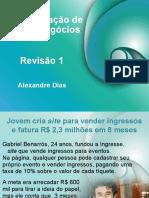 revisaoav1 ADMINISTRAÇÃO DE NOVOS NEGÓCIOS