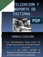 Inmovilizacion Transporte Victimas