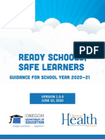 Ready Schools Safe Learners 2020-21 Guidance