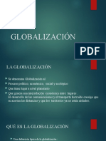 La globalización presentación en power point