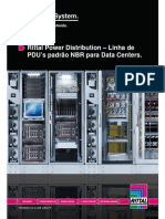 Datasheet - PDU's padrão NBR