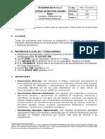PRO-TD-04!06!03 Compra y Fabricación de Herramientas Manuales