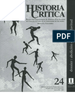 Revista Historia Crítica N° 24