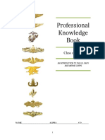 Professional Knowledge Book