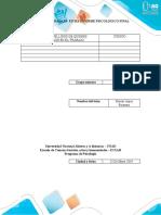 Examen final Informe Psicologico