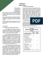 Asme Art.9 Examen visual traducido español