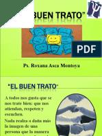 El Buen Trato - Roxana