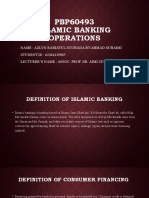 Islamic banking operation Azlyn