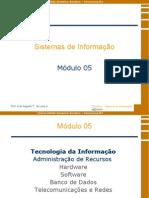 Sistemas de Informação - Módulo 5