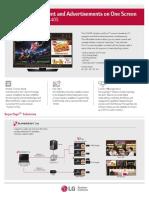Especificaciones de TV 43