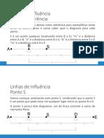 Exemplo Resolvido- Linha de Influência - Cortante e Momento em ponto entre Apoios.pdf