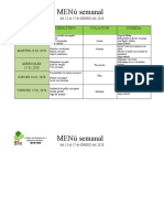 menu 13 al 17 enero 2020