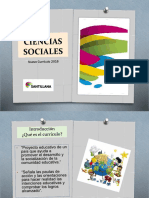 Ciencias Sociales Nuevo Curriculo 2016