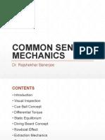 Common Sense Mechanics