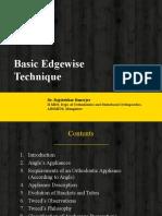 Basic Edgewise Technique
