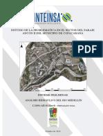 Análisis hidráulico Rio Medellin