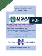Ensayo Historia de Guatemala