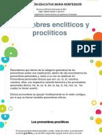 pronombres proclíticos y enclíticos 10