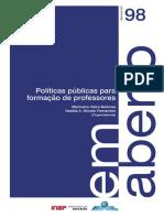 Políticas públicas para formação de professores