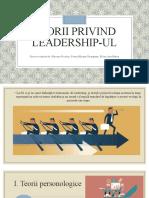 Teorii privind leadership-ul (1)
