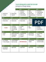 1 six weeks - unit plan