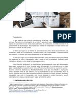 Nocioni, M. E. (2020) El pedagogo es el viaje. Santa Fe. ISP8.