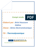 Compte-rendu Thermo