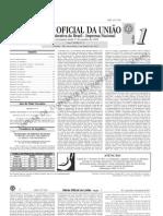diário oficial da união (DOU) - 04.01.2011 - seção 1