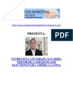 Entrevista con Israel Navarro, Editor de Campaigns and Elections para América Latina