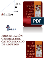 Presentacion CATEQUESIS Iniciacion Adultos