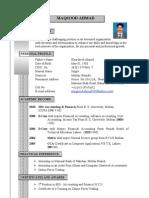 CV Maqsood Ahmad