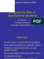 Managing the Risks of Organizational Accidents, JReason