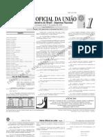 diário oficial da união (DOU) - 06.01.2011 - seção 1
