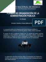 FORMAS DE ORGANIZACIÓN DE LA ADMINISTRACIÓN PUBLICA