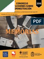 MEMORIAS CONGRESO REFLEXIONES SOBRE ADMON 2019 - final 00