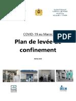 Plan de déconfinement du Ministère de la Santé - Maroc